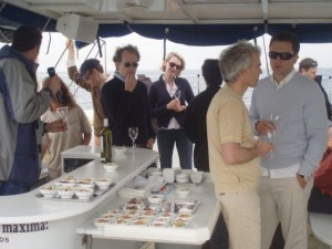 Food menu for private sail tours for up to 11 people