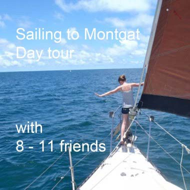 Private sail tours with up to 11 people