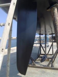 sailing with archambault rudder