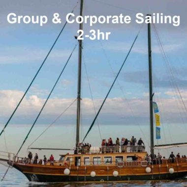 Group boat tours and sail events