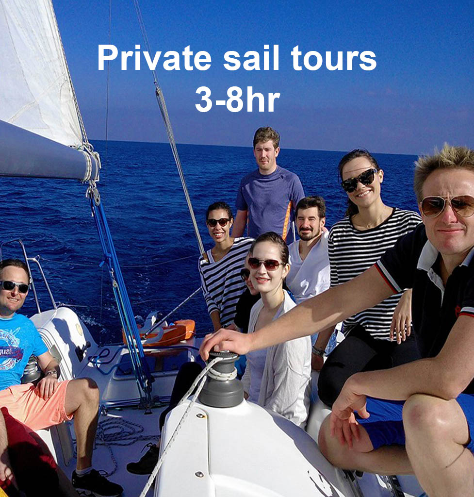 bout trip barcelona private Sail Tours barcelona
