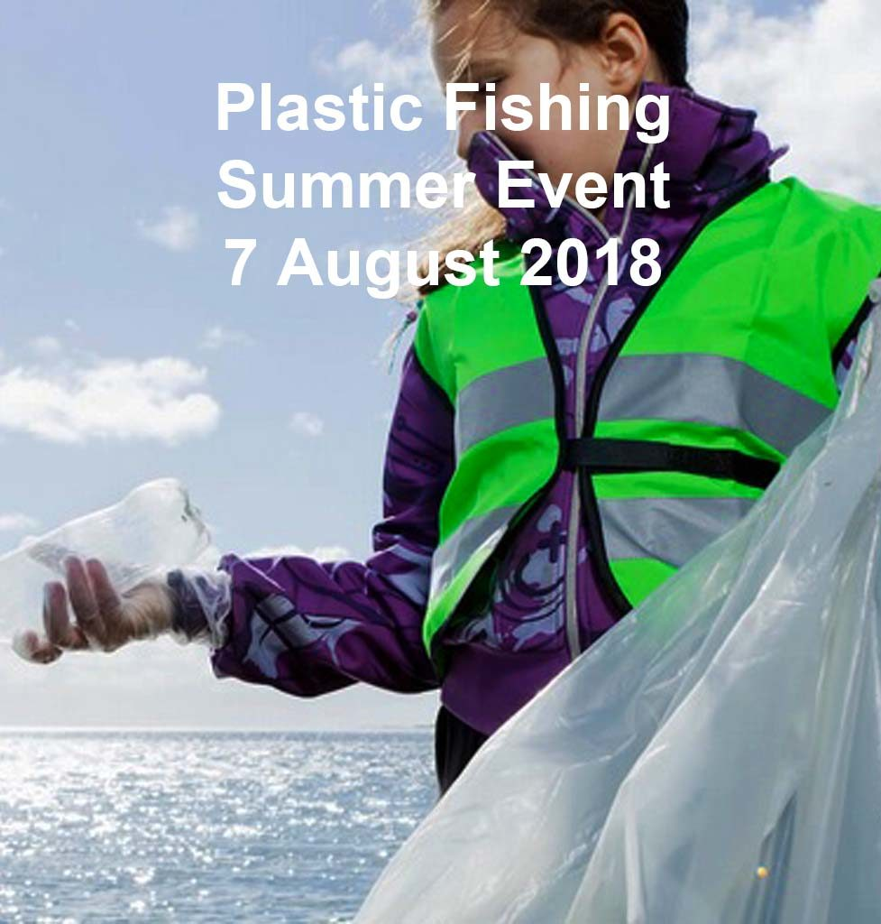 Plastic Fishing Summer Sailing Barcelona Event