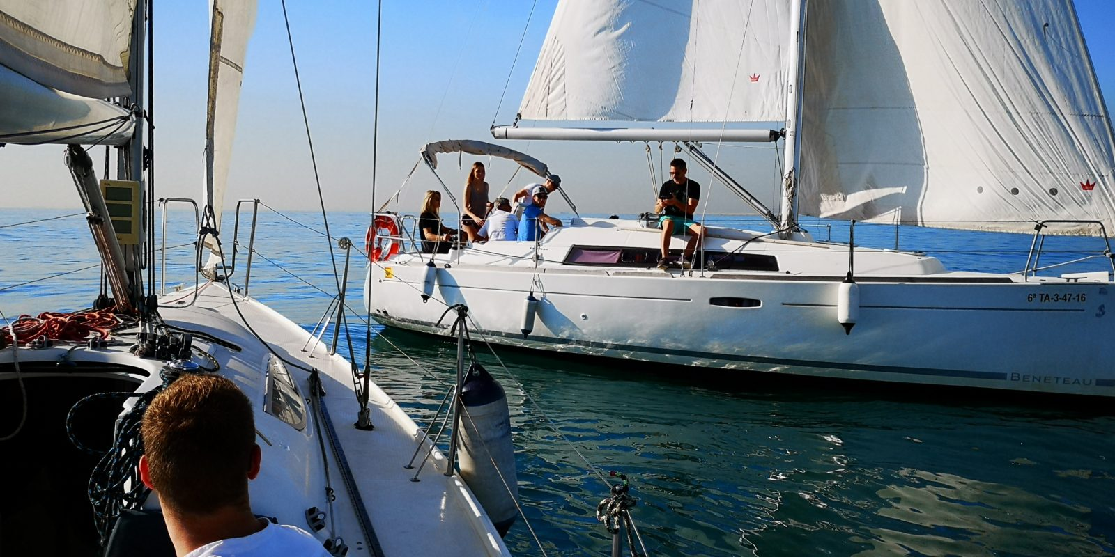 team building event boat tours regatta barcelona