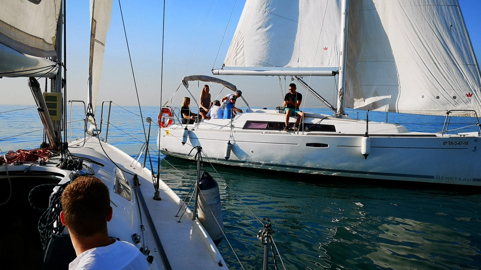sailing team building sailing event in barcelona