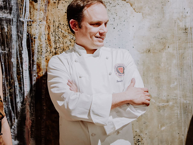 Xavier Lahuerta Spains best chef works with BarcelonaSail