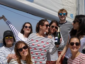 Hen parties on a boat
