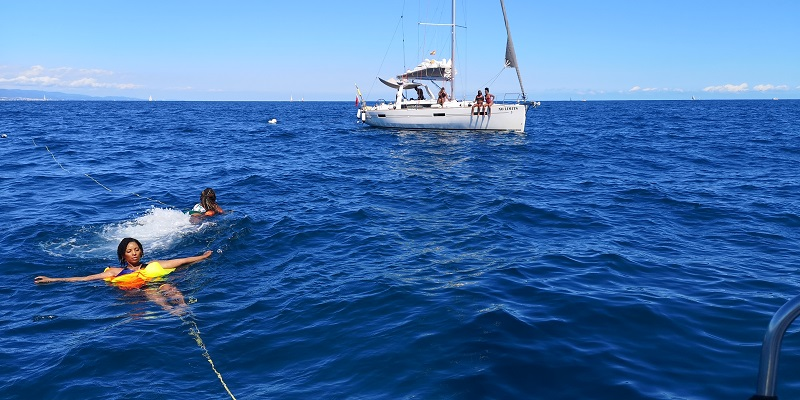 Luxury boat tours Barcelona day sail Experience
