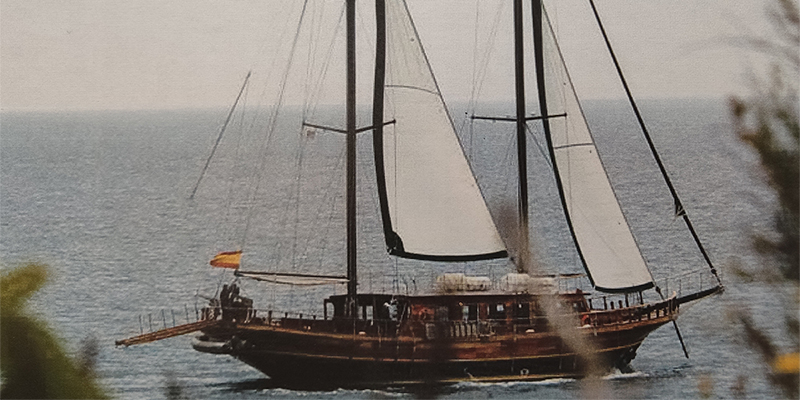 Schooner day sail Experience with your company